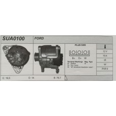 Alternatore revisionato Ford Escort (SUA 0100)